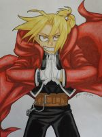Edward Elric by HumbleScarlet