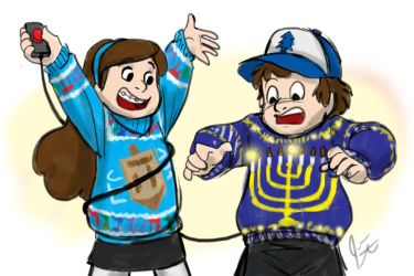 Gravityfalls Holiday Sweaters Jpeg by jameson9101322