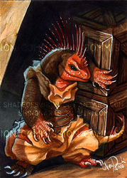 ACEO Commission: Dark Alleys by ShadeofShinon