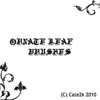 Ornate Leaf Brushes by cate2k