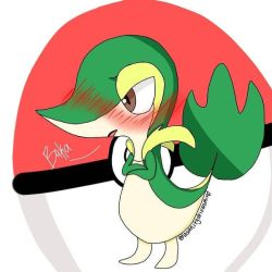 Snivy by InsanityDrivenMind