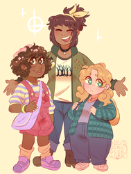 dream daddy gals by dongoverlord