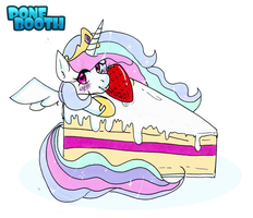 Chibi Tia' - Cake Thief by PoneBooth