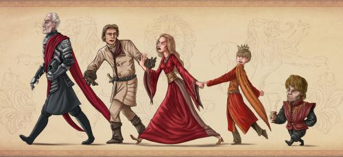 Lannisters of Westeros by Aktheneroth