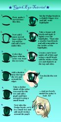 Quick Eye Tutorial by blackpanther13