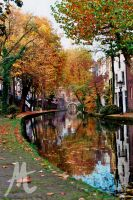 Autumn in Utrecht by demonhunter
