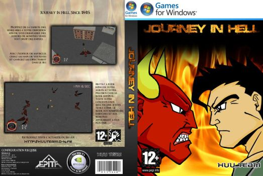 CD Cover Journey In Hell by Bobu77