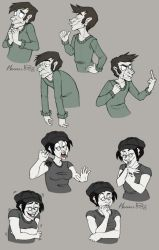 -character expressions- by weird-science