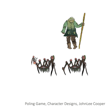 Poling Game Character Designs by ergman