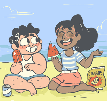 beach city summer by mushroomstairs