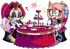 Tea Time with the Queen of Hearts