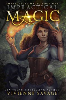 Impractical Magic Book Cover Commission by merely-A