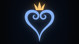 Kingdom Hearts - Logo Wallpaper by abluescarab