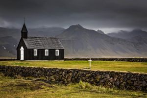 Black Church - Budir, Iceland by cwaddell