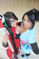 Litchi And Sheena by Dairetto