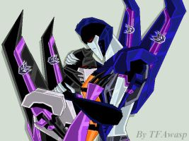 Skywarp And Thundercracker by Clindra