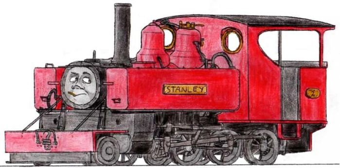 Stanley the American Mid-Sodor Engine by 01Salty