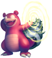Slowbro used Thunder Wave