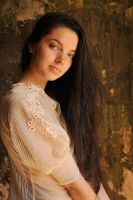 Rosie - portrait in lace 1 by wildplaces
