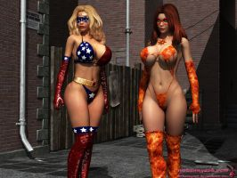 Another Patriotica/Solar Girl image by mrbunnyart