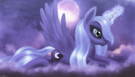 Young Luna by macalaniaa
