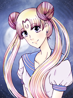 Sailor Moon by monsieurmouton