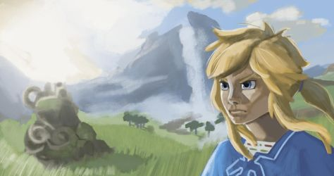 Breath of the wild study by qulr