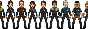 Bry-Sinclair's Star Trek Voyager Reboot by SpiderTrekfan616