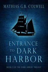 Entrance to Dark Harbor - Book Cover by SBibb
