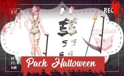 Amor doce UL - Pack - Halloween by S0Silvia