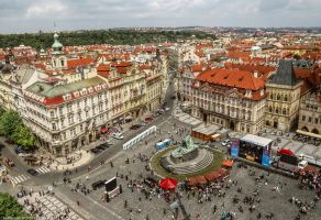 Prag-Old Town Square by pingallery