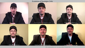 Evolution of Nostalgia Critic by LegoGuy87
