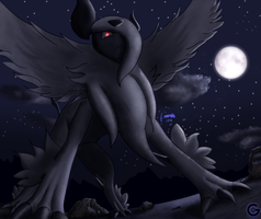 Mega Absol by gamefan5