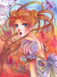 Princess Serenity :colored: by Giname