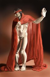 Figure and Cloth Study by ccs1989