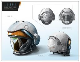 alien helmet design by raddick11