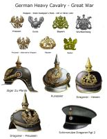 ww1 German heavy cavalry headgear by AndreaSilva60
