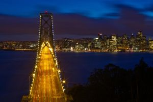 San Francisco from Treasure Island by thevictor2225