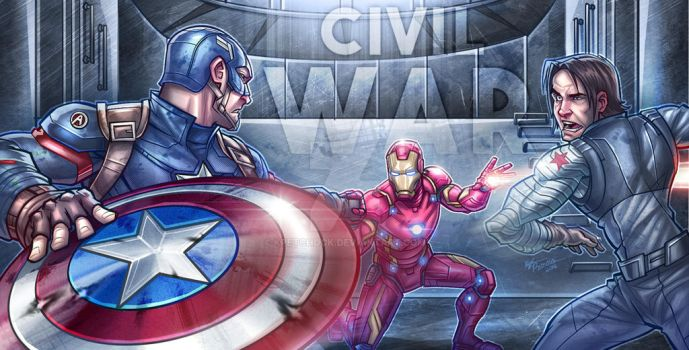 Captain America: Civil War by kpetchock