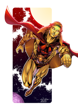 Adam Warlock by AlonsoEspinoza