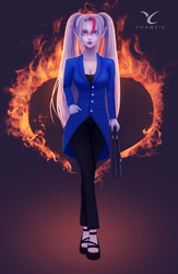 Scarlet (Commission) by yhamzie