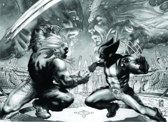 WOLVERINE EVOLUTION n.50 cover by simonebianchi