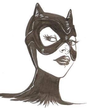 Catwoman by gattacicova