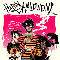 Hallowbean Two-Thousand-Seventeen by Krooked-Glasses