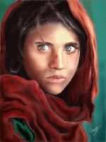 The Afghan Girl by ConorTheStarchilde