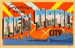 Large Letter Postcard - New York City by Yesterdays-Paper