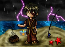Zuko Chibi_Bad Fishing by renealexa