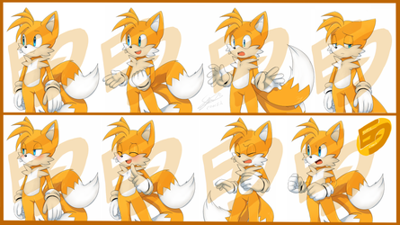 EC Expression sheet_Tails by f-sonic