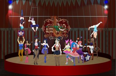 Circus - Group Image [Warning: Large file size] by buck3