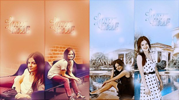Lucy Hale PACK by ItsSweetHeart
